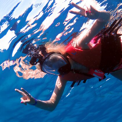 Šarmelšeiha. Ekskursija uz Ras Mohammed NP. Snorkelēšana.